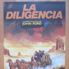 Cine: CARTEL CINE, LA DILIGENCIA, JOHN WAYNE, CLAIRE TREVOR, MATAIX, 1982, C1255. Lote 109286131