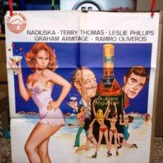 Cine: LA MOSCA HISPANICA. NADIUSKA, TERRY THOMAS, LESLIE PHILLIPS, GRAHAM ARMITAGE. AÑO 1976.. Lote 109286563