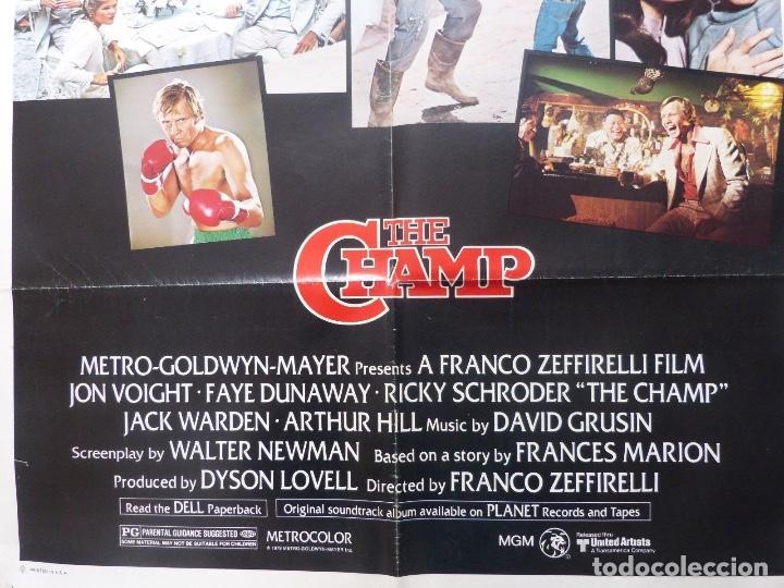Cine: The champ movie poster,1979,Metro-Goldwyn-Mayer,Jon Voight,Faye Dunaway - Foto 2 - 109287447
