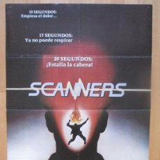 Cinema: CARTEL CINE, SCANNERS, PIERRE DAVID, VICTOR SOLNICKI, 1980, C1281. Lote 109295167