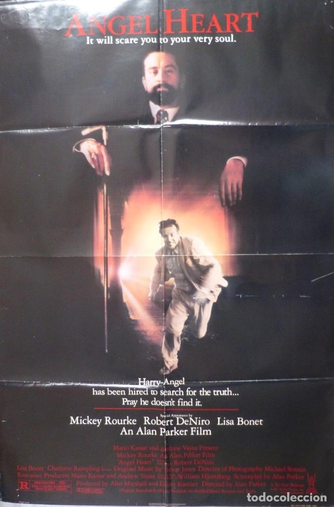 ANGEL HEART MOVIE POSTER,1987,DOLBY STEREO. (Cine - Posters y Carteles - Suspense)