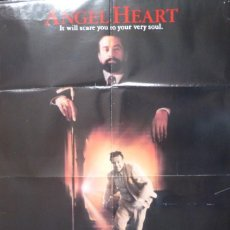 Cine: ANGEL HEART MOVIE POSTER,1987,DOLBY STEREO.. Lote 109299191