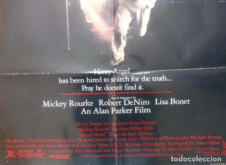 Cine: Angel Heart movie poster,1987,Dolby stereo. - Foto 2 - 109299191