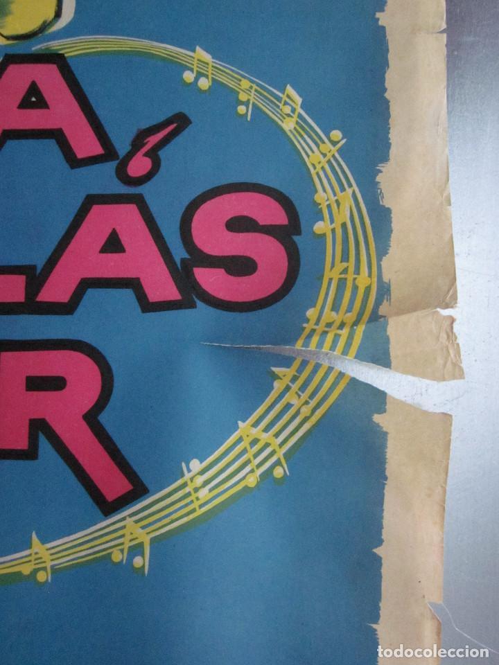 Cine: MUSICA ESPUELAS Y AMOR TONI AGUILAR EVANGELINA ELIZONDO AGUSTIN ISUNZA AÑO 1959 LITOGRAFIA - Foto 4 - 109354771