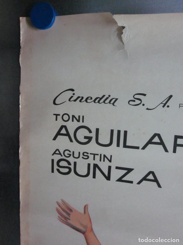 Cine: MUSICA ESPUELAS Y AMOR TONI AGUILAR EVANGELINA ELIZONDO AGUSTIN ISUNZA AÑO 1959 LITOGRAFIA - Foto 7 - 109354771