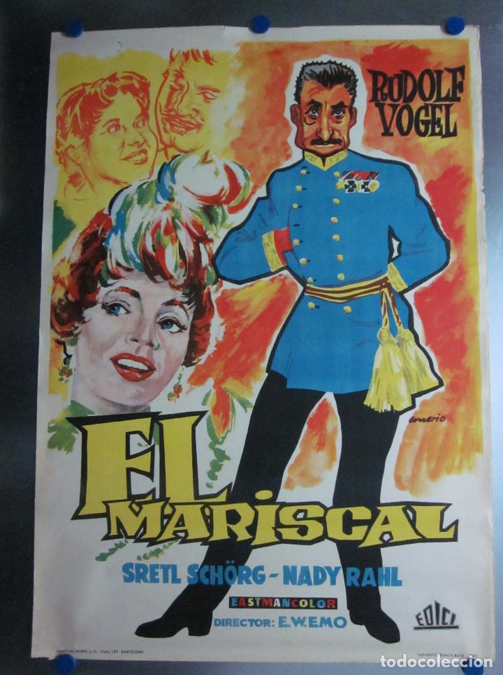 EL MARISCAL RUDOLF VOGEL AÑO 1961 (Cine - Posters y Carteles - Comedia)