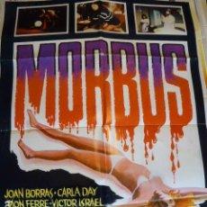 Cine: MORBUS. CARTEL DE CINE- MOVIE POSTES. 100X70 CM APROX. Lote 109368939