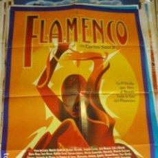 Cine: FLAMENCO. CARTEL DE CINE- MOVIE POSTES. 100X70 CM APROX. Lote 109370375