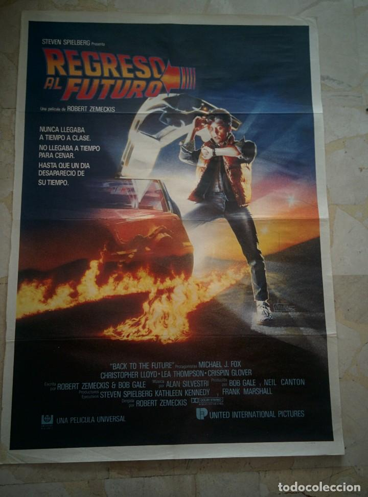 REGRESO AL FUTURO - Back to the Future - Cartel de Cine ORIGINAL segunda mano