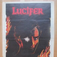 Cine: CARTEL CINE, LUCIFER, STEFAN ARNGRIM, ELIZABETH HOFFMAN, 1981, C1321. Lote 109430763