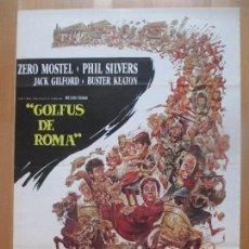 Cine: CARTEL CINE, GOLFUS DE ROMA, ZERO MOSTEL, PHIL SILVERS, C1323. Lote 109430999