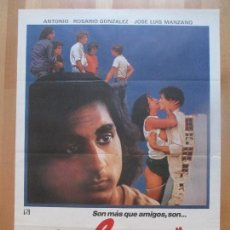 Cine: CARTEL CINE, COLEGAS, ANTONIO, ROSARIO GONZALEZ, 1982, C1339. Lote 109437043