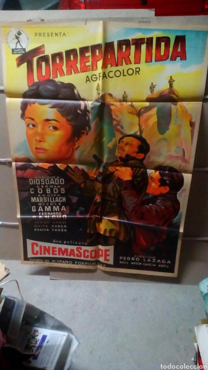 TORREPARTIDA PEDRO LAZAGA GUERRA CIVIL SOLIGO POSTER ORIGINAL 70X100 YY LITOGRAFIA (Cine - Posters y Carteles - Clasico Español)