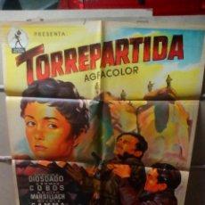 Cine: TORREPARTIDA PEDRO LAZAGA GUERRA CIVIL SOLIGO POSTER ORIGINAL 70X100 YY LITOGRAFIA. Lote 109447296