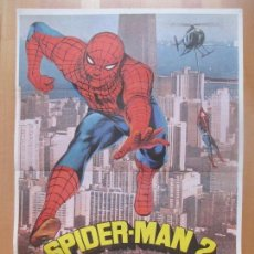 Cine: CARTEL CINE, SPIDER-MAN 2, EL HOMBRE ARAÑA EN ACCION, ROBERT JANES, 1978, C1363. Lote 109461739
