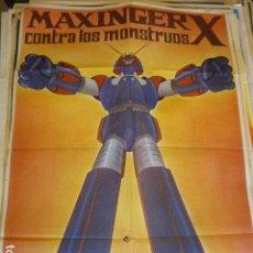 Cine: MAXINGER X. CARTEL DE CINE-MOVIE POSTER. 100X70 CM APROX.. Lote 109464279