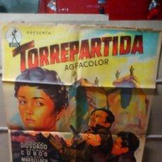 Cine: TORREPARTIDA PEDRO LAZAGA GUERRA CIVIL SOLIGO POSTER ORIGINAL 70X100 YY(1775). Lote 109502239