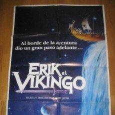 Cine: ERIK EL VIKINGO, TERRY JONES, TIM ROBBINS, EARTHA KITT, MICHEY ROONEY. Lote 109556639