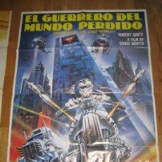 Cine: EL GUERRERO DEL MUNDO PERDIDO, ROBERT GINTY, DAVID WORTH, PERSIS KHAMBATTA, DONAL PLEASENCE. Lote 109557227
