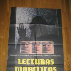 Cine: LECTURAS DIABÓLICAS, TIBOR TAKACS, JENNY WRIGHT, CLAYTON ROHNER. Lote 109563871