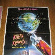 Cine: KILLER KLOWNS, KLOWNS ASESINOS, STEPHEN CHIODO, GRANT CRAMER, SUZANNE SNYDER. Lote 109567147