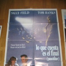 Cine: PUNCHLINE LO QUE CUENTA ES EL FINAL, TOM HANKS, SALLY FIELD, DAVID SELTZER, JOHN GOODMAN. Lote 109567871