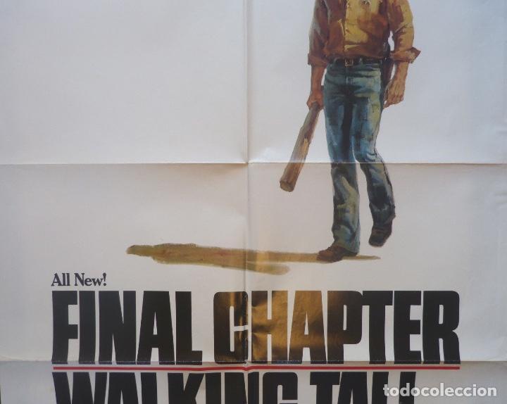 Cine: Final chapter-Walking tall movie poster,1977,Charles A.Pratt - Foto 3 - 109620391