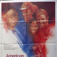 Cine: AMERICAN FLYERS MOVIE POSTER,WARNER BROS,1985. Lote 109629111