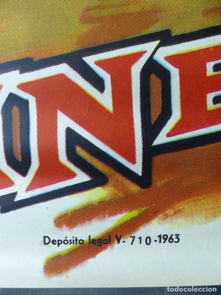 Cine: EL JINETE NEGRO - JULIO ALDAMA, MAURICIO GARCES - AÑO 1963 - Foto 2 - 109711559