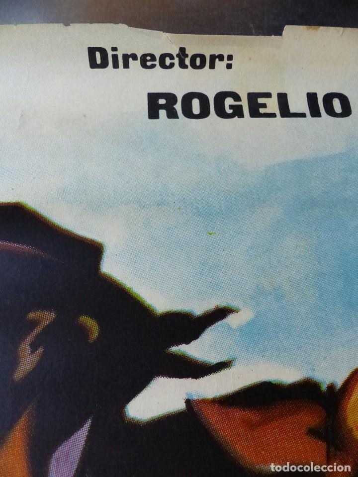 Cine: EL JINETE NEGRO - JULIO ALDAMA, MAURICIO GARCES - AÑO 1963 - Foto 7 - 109711559