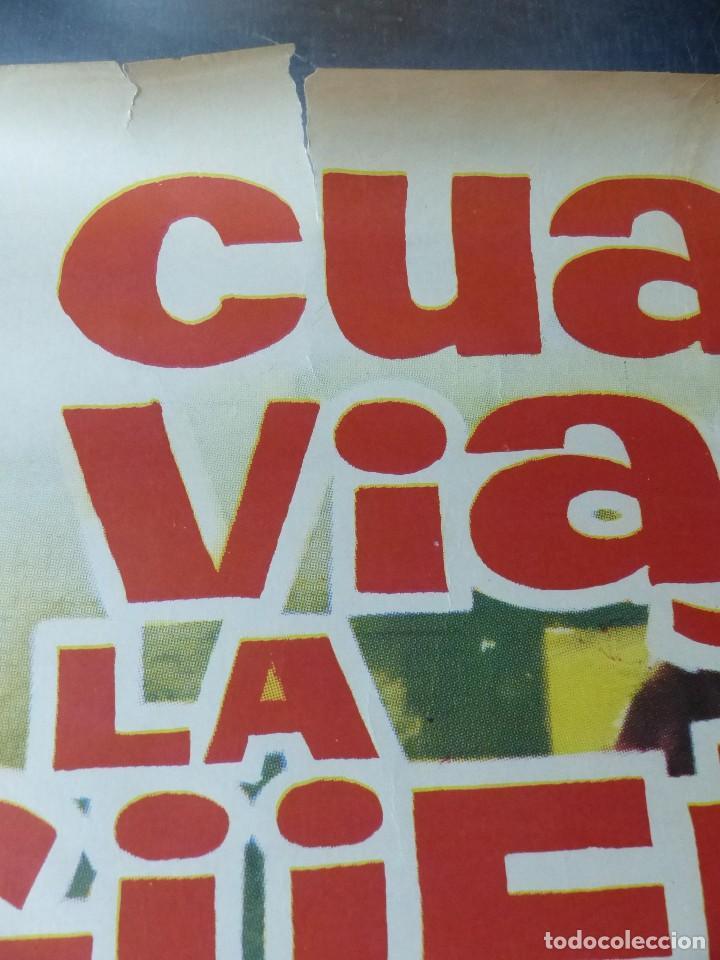 Cine: CUANDO VIAJA LA CIGÜEÑA - LIBERTAD LAMARQUE, ARTURO DE CORDOVA - AÑO 1961 - Foto 7 - 109713327