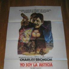 Cine: YO SOY LA JUSTICIA II, CHARLES BRONSON, MICHAEL WINNER, JILL IRELAND, VINCENT GORDENIA. Lote 109739347