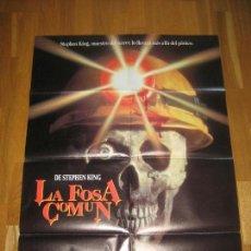 Cine: LA FOSA COMÚN, STEPHEN KING, RALPH S. SINGLETON, DAVID ANDREWS, KELLY WOLF. Lote 109742687