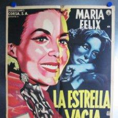 Cine: LA ESTRELLA VACIA. MARIA FELIX, NOVELA LUIS SPOTA. ILUSTRACION RUY RENAU - AÑO 1959. Lote 109758371