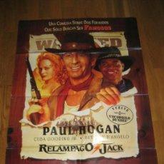 Cine: RELAMPAGO JACK, PAUL HOGAN, CUBA GOODING JR, BEVERLY D´ANGELO, SIMON WINCER. Lote 109830211