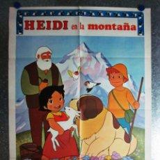 Cine: HEIDI EN LA MONTAÑA - AÑO 1976. Lote 109835747