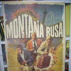 Cine: MONTAÑA RUSA POSTER ORIGINAL 70X100 Q. Lote 109904243