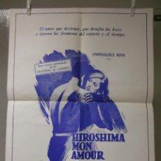 Cine: CARTEL CINE ORIG HIROSHIMA MON AMOUR (1959) 50X65 / ALAIN RESNAIS. Lote 117898502
