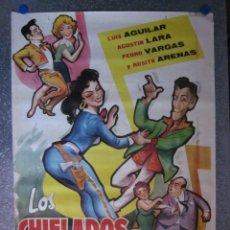 Cine: LOS CHIFLADOS DEL ROCK AND ROLL. AGUSTIN LARA, ROSITA ARENAS,LUIS AGUILAR - AÑO 1962 - A. PERIS. Lote 110105363
