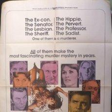 Cine: THE MIDNIGHT MAN MOVIE POSTER,SUSAN CLARK,1974. Lote 110150115
