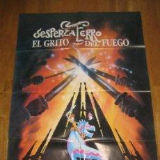 Cine: DESPERTAFERRO EL GRITO DEL FUEGO, JORDI AMOROS. Lote 110188195