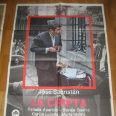 Cine: LA CRIPTA, JOSE SACRISTÁN, RAFAELA APARICIO, MARTA MOLINS, CAYETANO DEL REAL. Lote 110192559