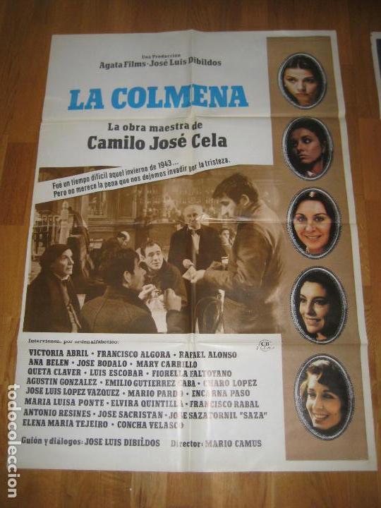 LA COLMENA, DIBILDOS, MARIO CAMUS, VICTORIA ABRIL, ANA BELEN, J L LOPEZ VAZQUEZ, SAZATORNIL, VELASCO (Cine - Posters y Carteles - Clasico Español)
