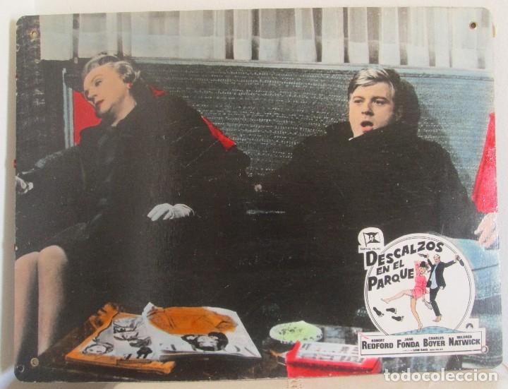 ROBERT REDFORD Y JANE FONDA, CARTELERA, DESCALZOS EN EL PARQUE (Cine - Posters y Carteles - Comedia)