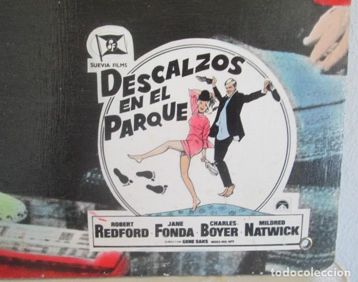 Cine: Robert Redford y Jane Fonda, cartelera, Descalzos en el parque - Foto 2 - 110205123