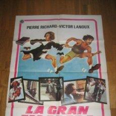 Cine: LA GRAN ESCAPADA, GERARD OURY, PIERRE RICHARD, VICTOR LANOUX, LA CARAPATE. Lote 110217267