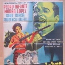 Cine: CARTEL CINE, LA TERCERA PALABRA, PEDRO INFANTE, MARGA LOPEZ, SARA GARCIA, C1372. Lote 110250259