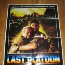 Cine: LAST PLATOON, PAUL D. ROBINSON, RICHARD HATCH, VASSILI KARIS, ANTHONY SAWYER, DONALD PLEASENCE. Lote 110297671