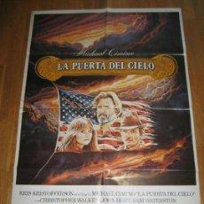 Cine: LA PUERTA DEL CIELO, MICHAEL CIMINO, KRIS KRISTOFFERSON, CHRISTOPHER WALKEN, JEFF BRIDGES. Lote 110298359