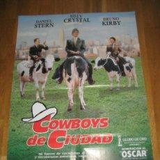 Cine: COWBOYS DE CIUDAD, RON UNDERWOOD, DANIEL STERN, BILLY CRYSTAL, BRUNO KIRBY, JACK PALANCE. Lote 110348799